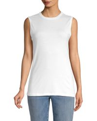 Eileen Fisher - Ribbed Muscle Tank - Lyst
