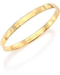 Ippolita - Glamazon Stardust Diamond & 18k Yellow Gold Three-section Bangle Bracelet - Lyst