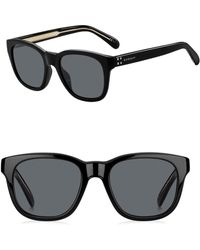 fa5e221012 Lyst - Givenchy Classic 56mm Square Sunglasses in Black for Men