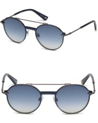 Web - Round Sunglasses - Lyst