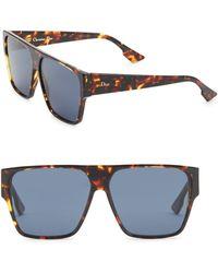 25ca125c2ff1 Lyst - Dior Hit 2 Rimless Sunglasses in Metallic