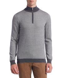 Saks Fifth Avenue - Collection Birdseye Merino Sweater - Lyst