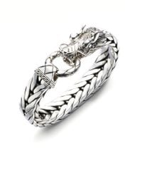 John Hardy - Dragon Chain Silver Bracelet - Lyst