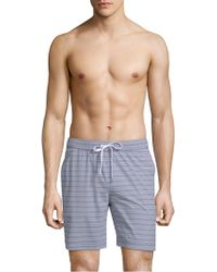 Onia - Charles Multistripe Swim Trunks - Lyst