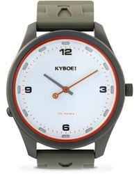 Kyboe - Evolve Series Atomic Stainless Steel Strap Watch - Lyst