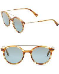 Web - 50mm Round Sunglasses - Lyst