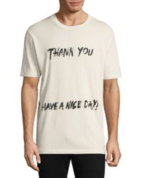 3.1 Phillip Lim - Thank You Graphic Tee - Lyst