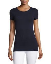 Majestic Filatures - Soft Touch Short-sleeve Tee - Lyst
