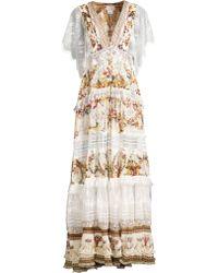 2203bcabb79 Camilla - Women s La Fleur Libertine Olympe Ode Button Up Floral   Lace  A-line