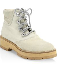3.1 Phillip Lim - Dylan Lace-up Hiking Boots - Lyst