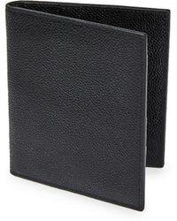 Thom Browne - Pebble-grain Leather Passport Holder - Lyst