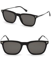 4762da281c Tom Ford Cole Ft0285 Sunglasses in Black for Men - Lyst