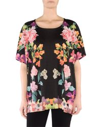 Stizzoli - Oversized Floral T-shirt - Lyst