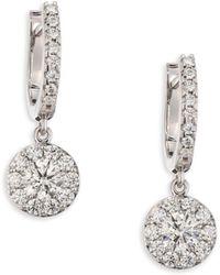 Hearts On Fire   Fulfillment Diamond Drop Earrings   Lyst