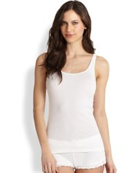 Skin - Essential Ribbed Tank Top - Lyst