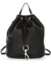 Rebecca Minkoff - Blythe Small Leather Backpack - Lyst