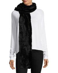 Donni Charm - Faux Fur Fierce Scarf - Lyst