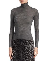 Dior - Cashmere & Silk Turtleneck Sweater - Lyst