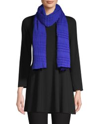 Eileen Fisher - Pleated Scarf - Lyst