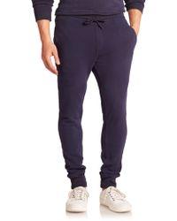 Wahts | Cotton & Cashmere Cuffed Sweatpants | Lyst
