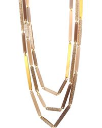 Lafayette 148 New York - Long Multi-strand Necklace - Lyst