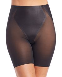 Spanx - Haute Contour Mid-thigh Shorts - Lyst