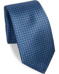 Kiton - Tiny Line Silk Tie - Lyst