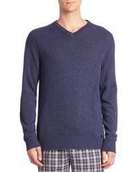 Hanro | Knits Tops Ribbed Cashmere Blend Sweater | Lyst