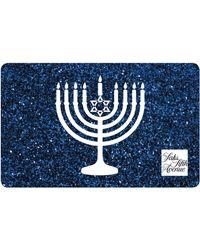 Saks Fifth Avenue - Hanukkah Blue Gift Card - Lyst