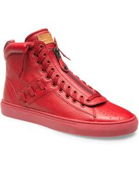 Bally - Hekem Leather High-top Sneakers - Lyst
