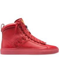 Bally - Men's Hekem Leather High-top Sneakers - Corvette - Lyst