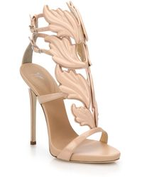Giuseppe Zanotti - Leather Wing Sandals - Lyst