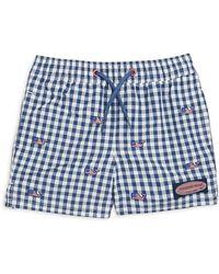 Vineyard Vines - Little & Big Boy's Gingham Shorts - Lyst