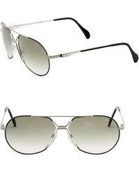 Cazal - 62mm Aviator Sunglasses - Lyst