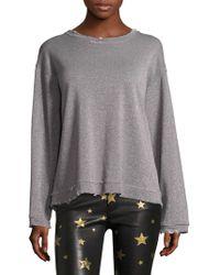 RTA - Beal Foiled Sweatshirt - Lyst