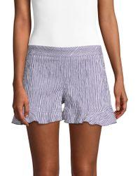 Trina Turk - Rocklin Striped Shorts - Lyst