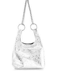099cb57d78 Rebecca Minkoff - Karlie Chain Crinkled Leather Shopper - Lyst