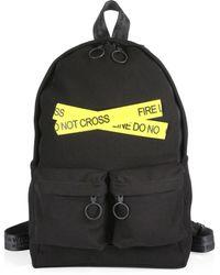 Off-White c/o Virgil Abloh - Firetape Backpack - Lyst