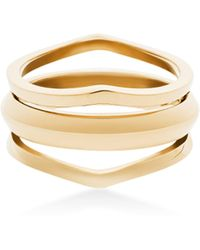 Michael Kors - Triple Open Ring - Lyst