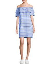Vineyard Vines - Canopy Off-the-shoulder Dress - Lyst