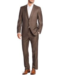 Saks Fifth Avenue - Samuelsohn Classic-fit Two-button Wool Suit - Lyst