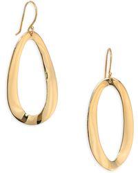 Ippolita - Cherish Medium 18k Yellow Gold Drop Earrings - Lyst