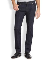 Ferragamo - Five-pocket Straight-leg Jeans - Lyst