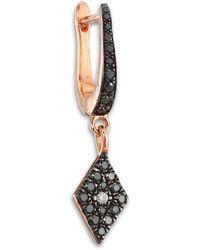 Diane Kordas - Diamond & 18k Rose Gold Cosmos Earring Charm - Lyst