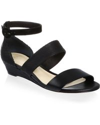 Alexandre Birman - New Yanna Python & Leather Platform Sandals - Lyst