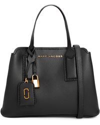 Marc Jacobs - The Editor Black Leather Tote Bag - Lyst