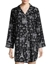 Saks Fifth Avenue - Collection Printed Sleepshirt - Lyst