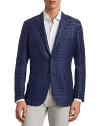 Saks Fifth Avenue - Collection Plaid Sportcoat - Lyst