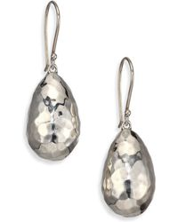 Ippolita - Glamazon Sterling Silver Medium Uovo Bead Drop Earrings - Lyst