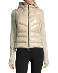 Moncler | Hooded Zip-front Jacket | Lyst